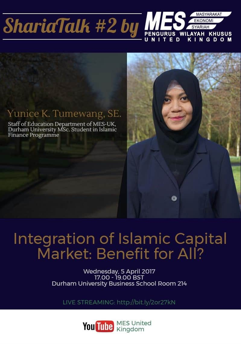 Sharia Talk : Integration of Islamic Capital Market: Benefit for All?